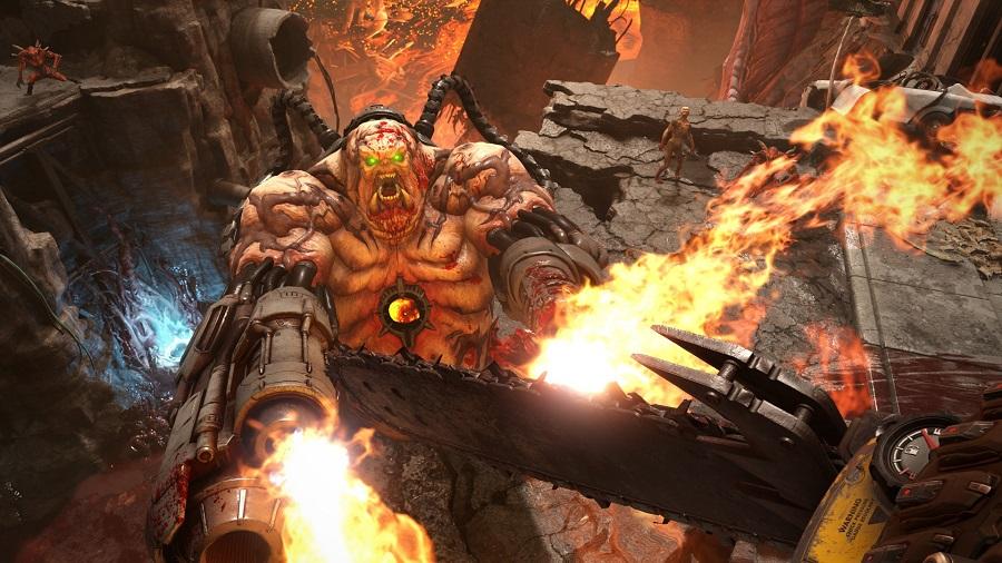 سی دی کی اورجینال Doom Eternal