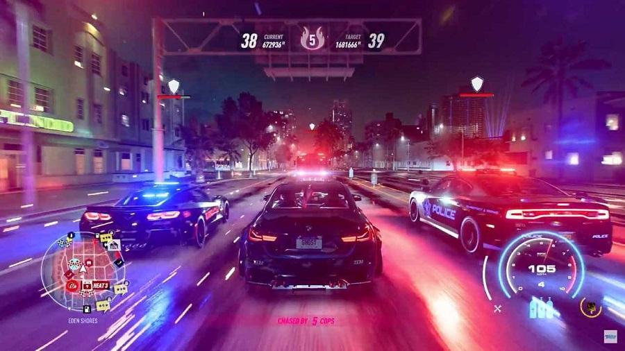 سی دی کی اورجینال Need For Speed Heat