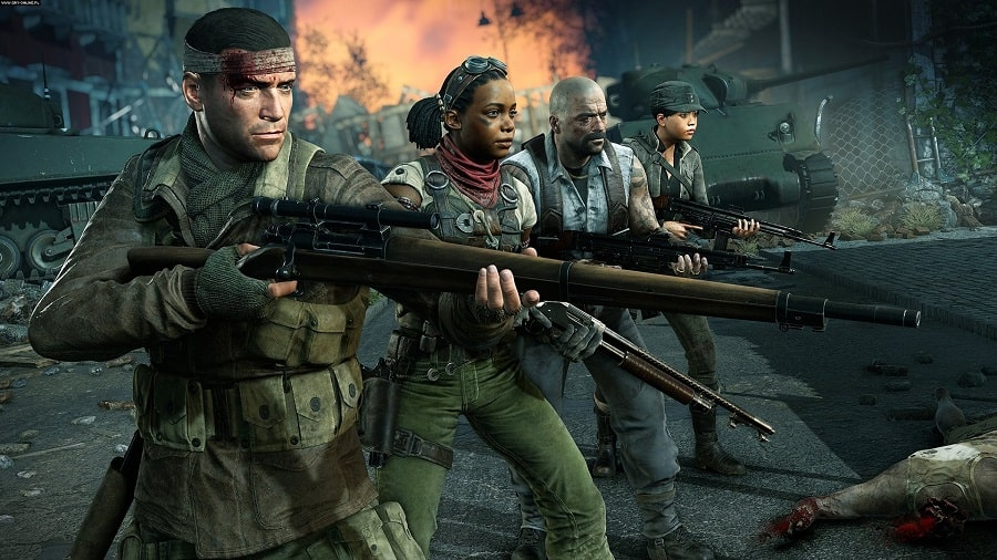 سی دی کی اورجینال Zombie Army 4 Dead War