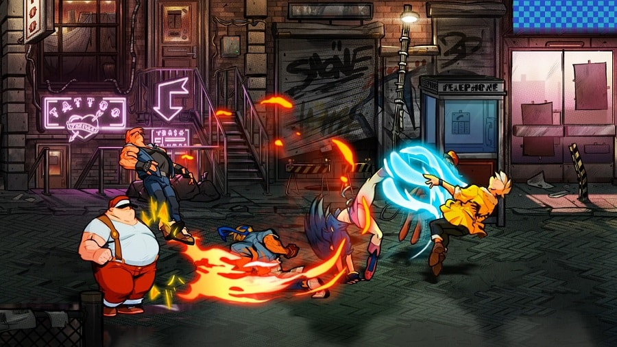 سی دی کی اورجینال Streets of Rage 4