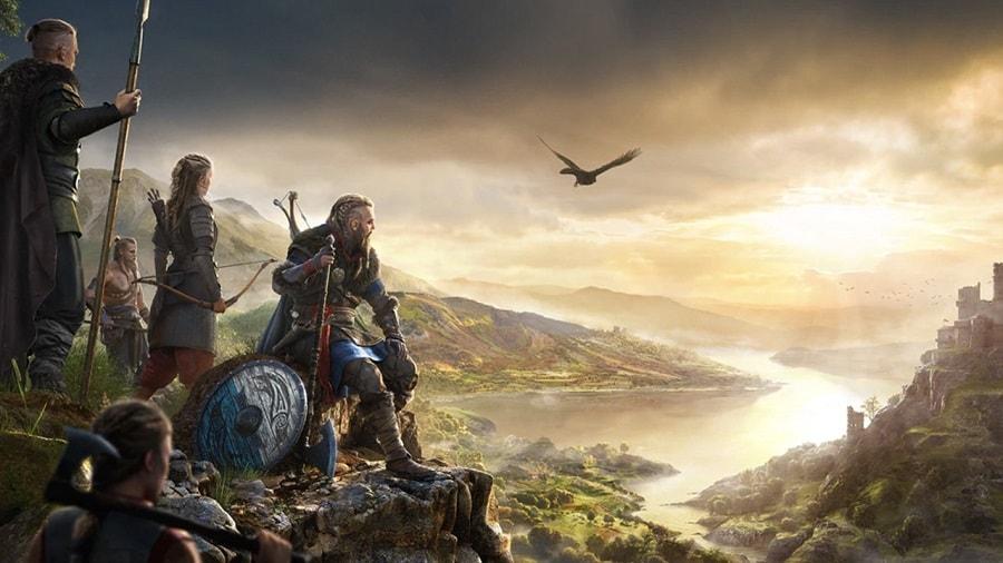 سی دی کی اورجینال Assassin's Creed Valhalla