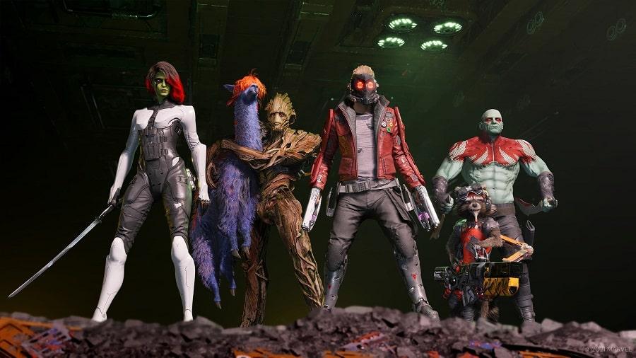 سی دی کی اورجینال Marvel's Guardians of Galaxy