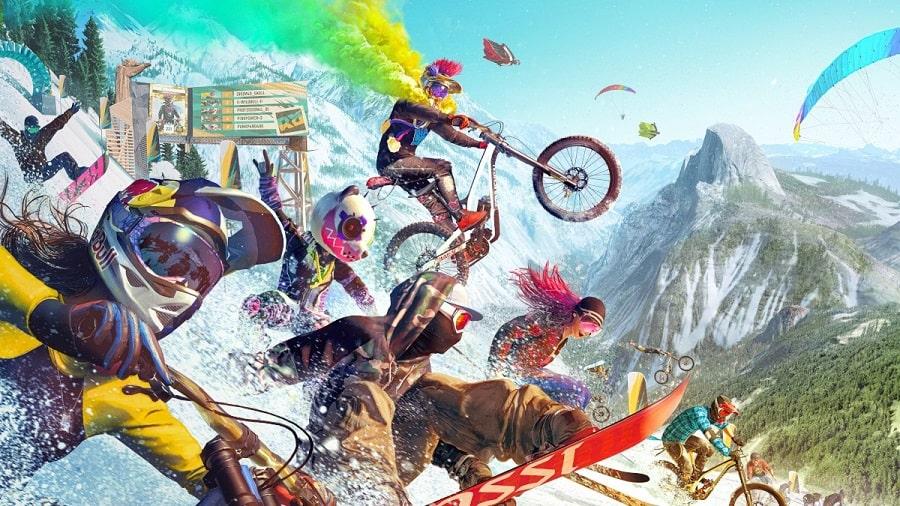 سی دی کی اورجینال Riders Republic