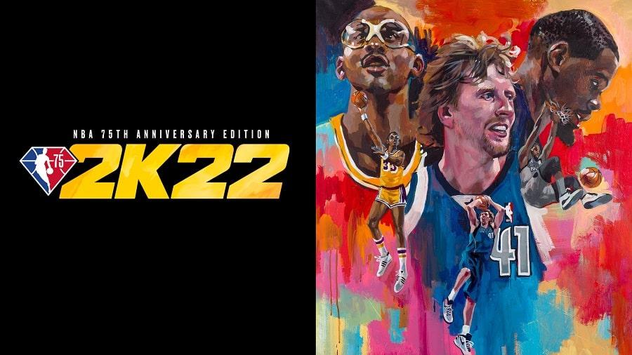 سی دی کی اورجینال NBA 2K22
