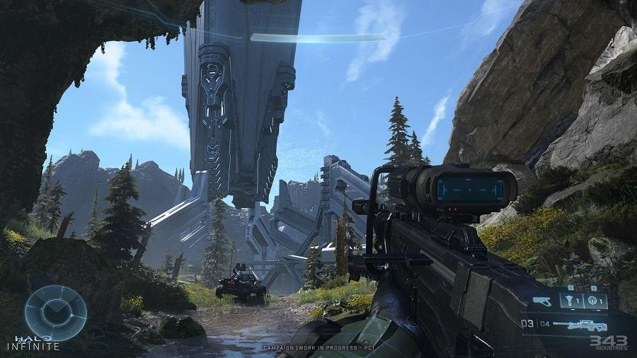 سی دی کی اورجینال Halo Infinite